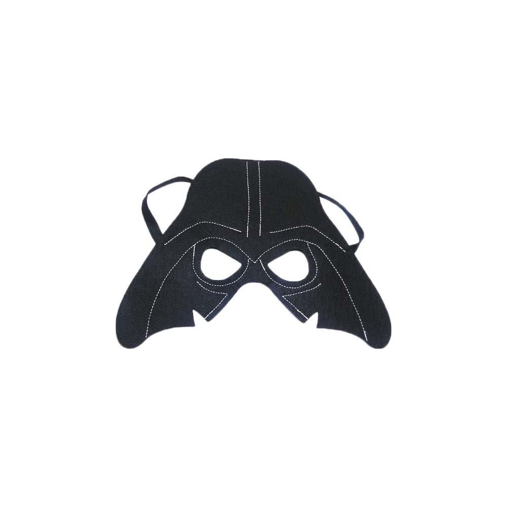 Star Wars Darth Vader Cartoon Kids Costume Felt Mask by Superheroes Brand