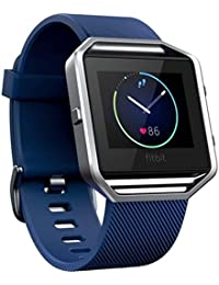 Soft Silicone Watch Band Wrist Strap Bracelet for Fitbit Blaze Smart Watch Blue