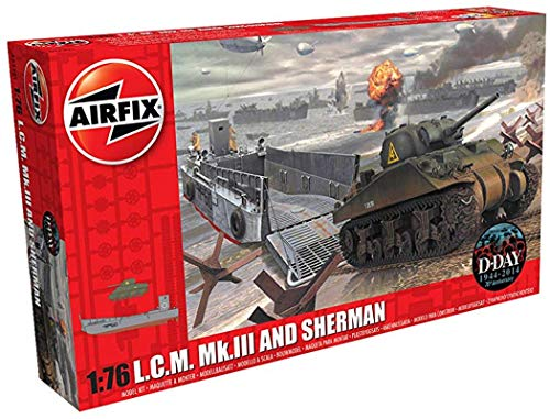- Airfix A03301 1:76 L.C.M. Mk.III and Sherman Kit