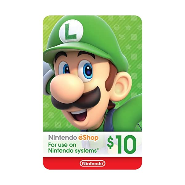 Nintendo eShop Gift Card Twister Parent