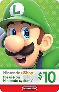 $10 Nintendo eShop Gift Card [Digital Code] (B01LZNGPY3) | Amazon Products