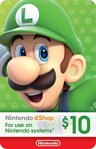 Wii Points Card Code - eCash - Nintendo eShop Gift Card $10 - Switch / Wii U / 3DS [Digital Code]