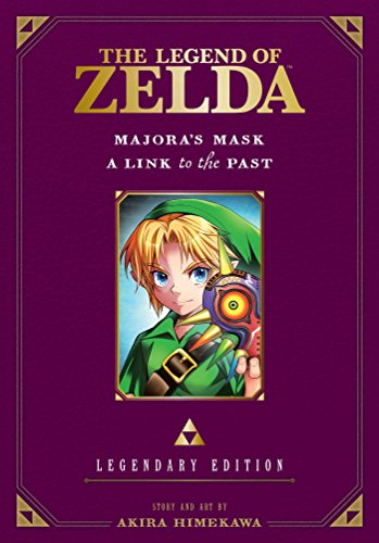 The Legend of Zelda: Majora's Mask / A Link to the Past -Legendary Edition- (The Legend of Zelda: Legendary Edition)