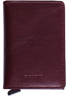 3651eeda86a Secrid Slim Wallet Original Leather With Rfid Safe Card Case (Original  Bordeaux)