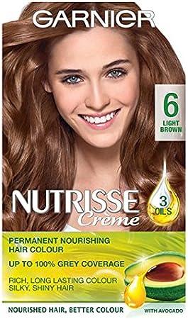 Garnier Nutrisse Creme 6 luz marrón: Amazon.es: Salud y ...