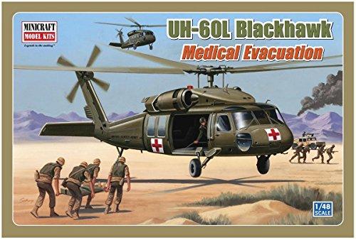 Minicraft 11644 Model Helicopter UH-60L Blackhawk Medical Evacuation