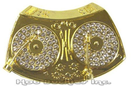 Hot Buckles Eagle Unity Rhinestone Belt ()