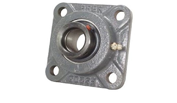 "HCFS209-28 High Quality 1-3//4/"" Eccentric 4-Bolt Flange Bearing  UGSLF209-28"