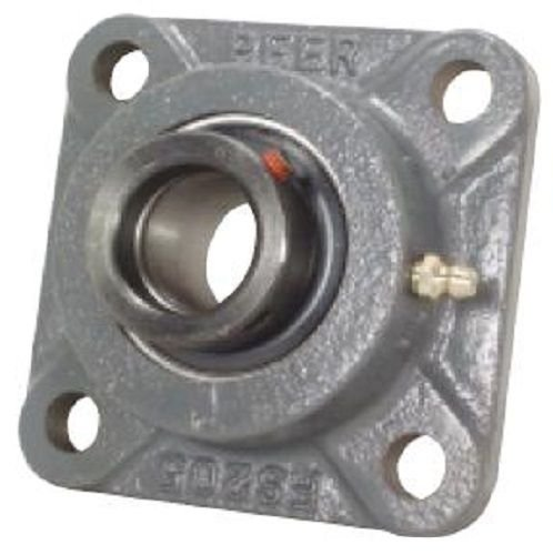 Peer Bearing PER HCFS211-32 4 Bolt Standard Flange Bearing Unit Wide Inner Ring 5-1//8 Bolt Center Eccentric Locking Collar Single Lip Seal Cast Iron 2 Bore Relubricable