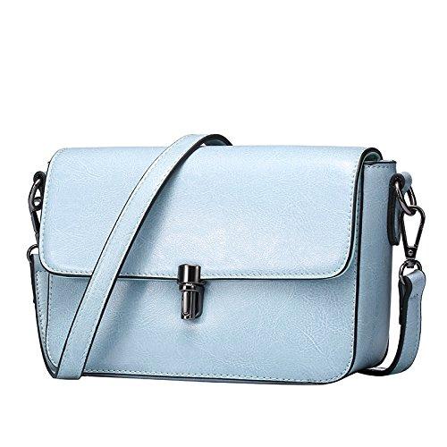 GUANGMING77 Single Schultertasche Handtasche_Area Kleine Schultertasche blue