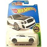 Hot Wheels 2016 Hw Exotics Series 7/10 Bentley Continental Supersports 77/250, Long Card by Mattel