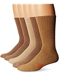 5 Pack Cushion Comfort Sport Crew Socks