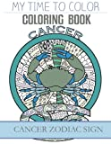 Cancer Zodiac Sign - Adult Coloring Book
