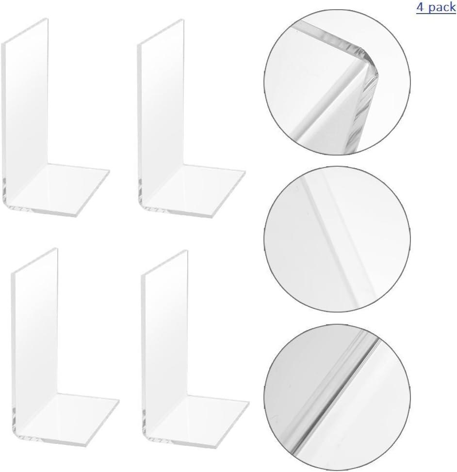 1 par Sujetalibros Estable Metal S/ólido Antideslizante Regalo Decorativo