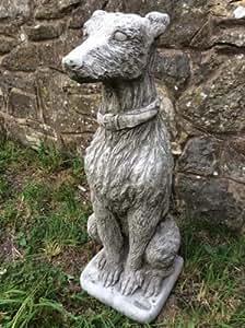 Gran piedra, adorno de jardín estatuas de perro lebrel