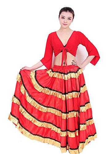 BININBOX, Robe Grande Robe Paso Doble Robe de Perforhommece