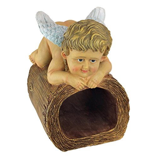 Design Toscano Blessings from Heaven Angel Gutter Guardian Downspout Statue ()