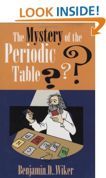 Chemistry periodic table amazon the mystery of the periodic table living history library urtaz Choice Image
