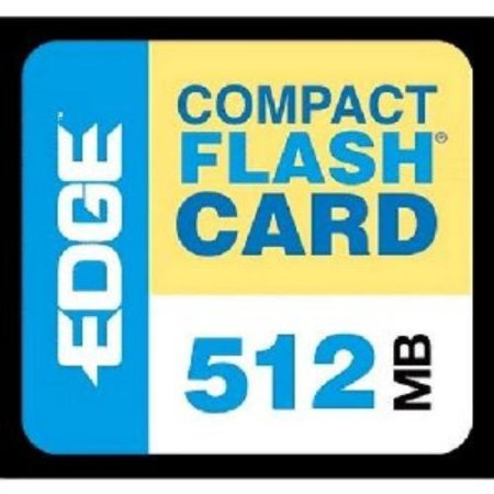 Edge Tech 512mb Digital Media Compactflash Card - 512 Mb (pe179502) - Edge Memory 512mb Compactflash Card