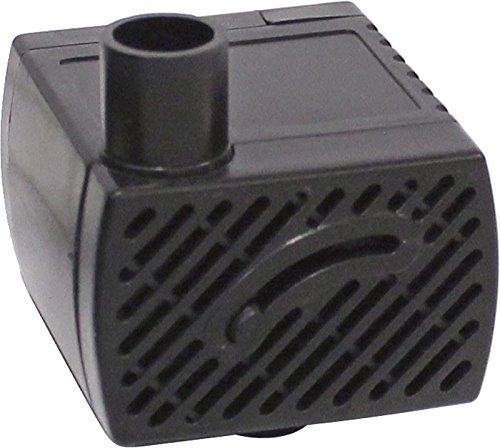 EasyPro Pond Products Tranquil Decor 85 GPH 2 Watt Submersible Fountain Pump