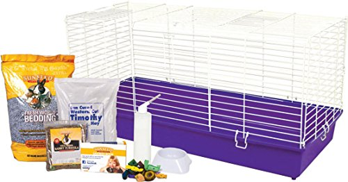 HOME SWEET HOME COMPLETE KIT FOR PET RABBITS - 40.25X17.25X20 by DavesPestDefense