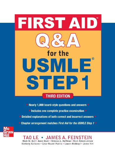 First Aid Q&A for the USMLE Step 1 (3rd 2012) [Le & Bechis]