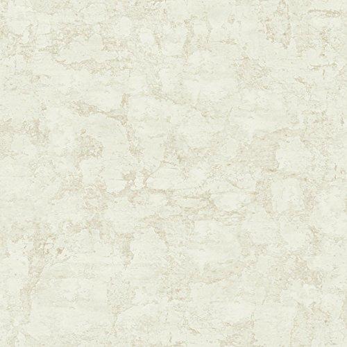 - York Wallcoverings Plaster Texture Removable Wallpaper