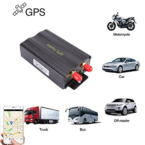 Price comparison product image GPS GPRS SMS Real-time tracker TK103A Quad band SD card slot anti-theft move alarm by SMS