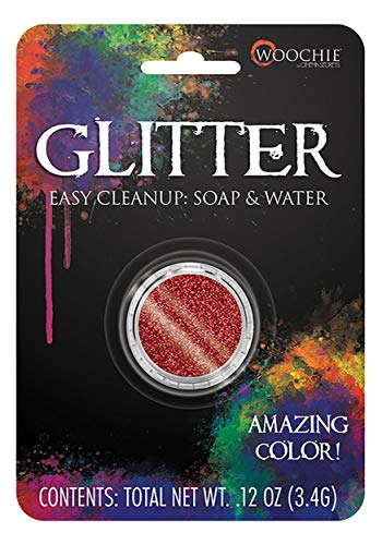 Cinema Secrets - GLITTER RED 0.1 OZ CARDED