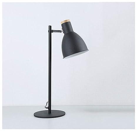 MJK Lámpara de escritorio, lámpara de mesa de noche ...