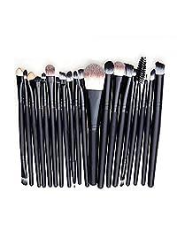 20PCS Makeup Brush Kit Eyebrow Blush Eyeshadow Eyeliner Lip Face Foundation Make up Brushes