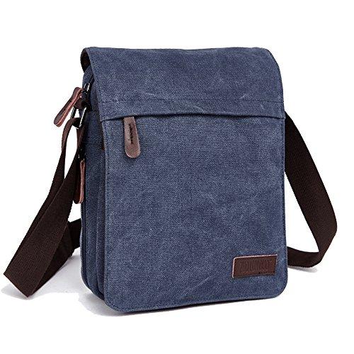 90404112ff774 Galleon - ENKNIGHT Nylon Crossbody Purse Bag For Women Travel Shoulder  Handbags (Blue 1)