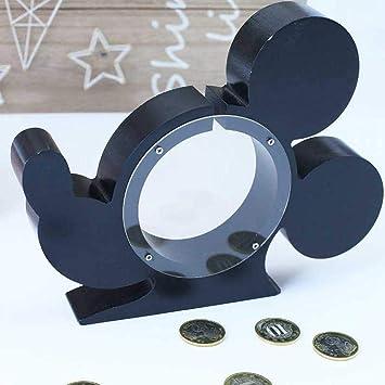 Cabeza de ratón de Dibujos Animados Caja de Dinero de Madera ...