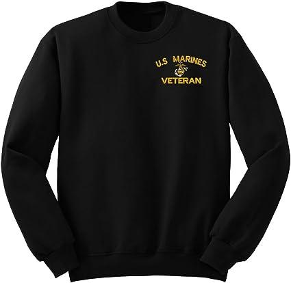 USMC CREWNECK SWEATSHIRT// MARINES// MILITARY// NEW