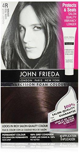 John Frieda Precision Foam Colour, Dark Red Brown …