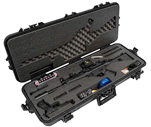 Case Club Waterproof HK MP5 Case with Accessory Box and Silica Gel to Help Prevent Gun - Mp5 Marui Tokyo