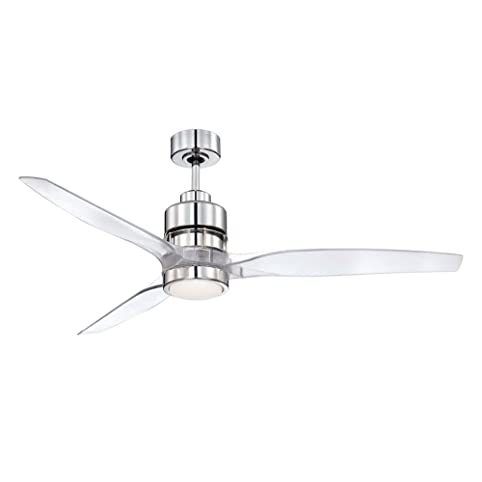 Craftmade k11067 sonnet ceiling fan with sonnet clear acrylic craftmade k11067 sonnet ceiling fan with sonnet clear acrylic blades and integrated led light kit 52quot mozeypictures Choice Image
