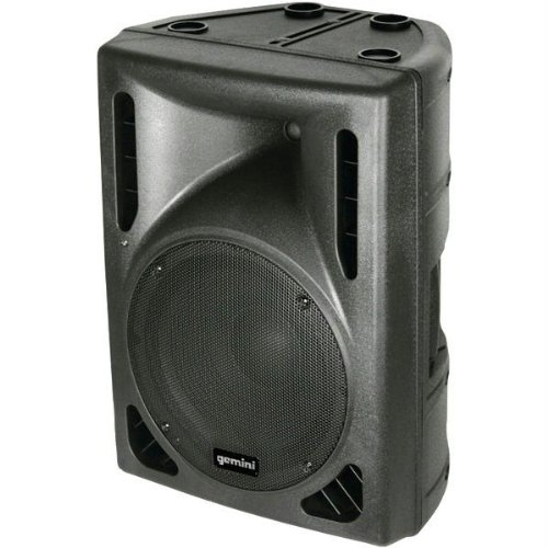 Gemini DJ DRS-12BLU Powered D-Class Loudspeaker with Mp3 Player and Bluetooth by Gemini