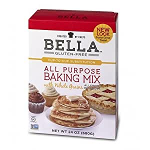 Bella Gluten-Free All Purpose Baking Mix (Pack of 4)