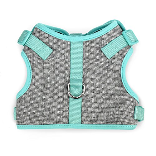 MARTHA STEWART Tweed Adjustable Fit Comfort Harness for Dogs, Size 18 (Martha Stewart Dog Clothes)