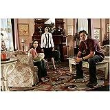 Charmed 8x10 Photo Alyssa Milano/Phoebe Halliwell, Rose McGowan/Paige Matthews & Brian Krause/Leo Wyatt in Livingroom kn