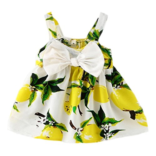 Baby Girls Summer Floral Princess Party Dress