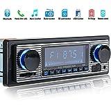 2 knob car radio - Toogoo Bluetooth Vintage Car Radio MP3 Player Stereo USB AUX Classic Car Stereo Audio