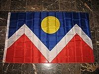 3x5 City of Denver Colorado Flag 3'x5' Banner Brass Grommets