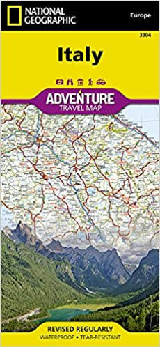 Picture Of Italy Map.Italy National Geographic Adventure Map National Geographic Maps