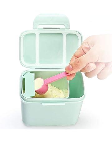 caja de leche en polvo portátil Dosificador de leche en polvo ideal para viaje con la