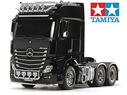 Amazon.com: Tamiya 1/14 Tractor Trucks Mercedes Benz Actros 3363 6x4 ...