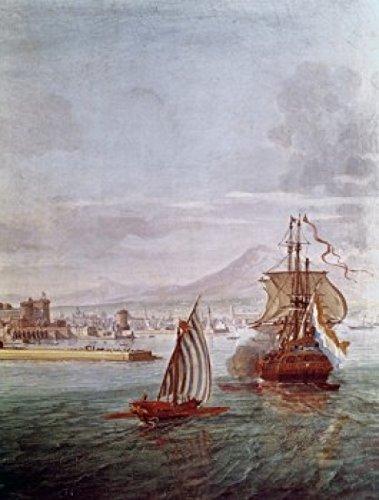 Port of Naples Gasper van Wittel (165253-1736 Flemish) Poster Print (18 x 24)