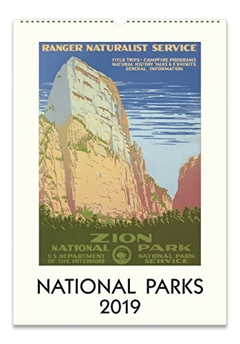 Cavallini Papers & Co. 2019 National Parks Wall Calendar, ()