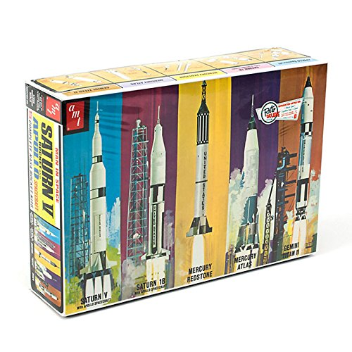 Man in Space Rocket Set Mega Hobby AMT700